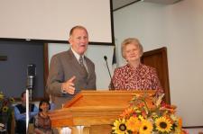 Bro. Stan & Linda Stevenson, former pastor & pastor's wife