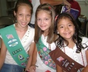 Thank you to our Girl Scouts for leading us in the Pledge of Allegiance to the American Flag