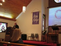 Community Good Friday Service hosted at MUMC, March 25, 2016
