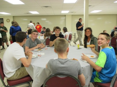 Youth & Children's Pizza Fellowship, Wed., April 20, 2016