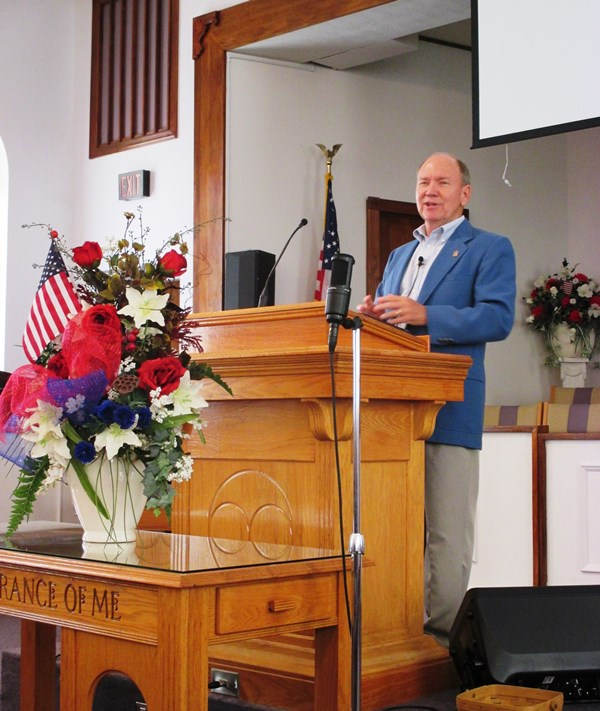Guest Speaker Bro. Don Pinson of Heritage Ministries of Kentucky