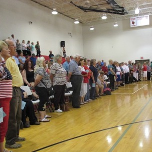 Community God & Country Gospel Sing at WCMS