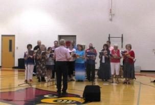 Community God & Country Gospel Sing at WCMS - Elk Spring Valley Choir