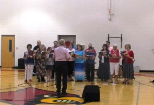 Community God & Country Gospel Sing at WCMS - Elk Spring Valley Choir