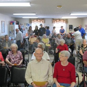 Church On The Move Golden Years Nursing Home Sept 2016 Elk